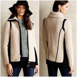 Anthropologie /Sparrow Colorblock Bouclé Sweater